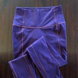 Lululemon 7/8 leggings eggplant purple 4